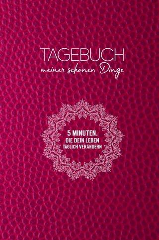 Tagebuch meiner schönen Dinge (Pink) - Robert Riedl