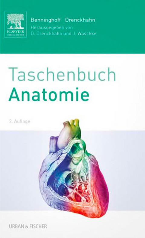 eBook: Benninghoff Taschenbuch Anatomie von Detlev Drenckhahn | ISBN ...