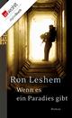 Wenn es ein Paradies gibt - Ron Leshem