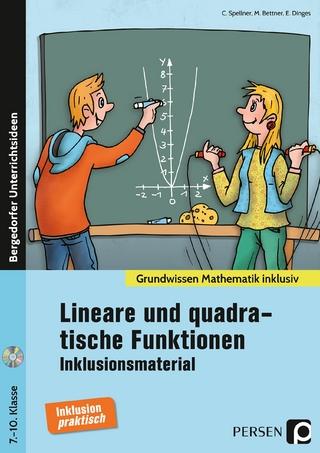 Lin. und quadrat. Funktionen - Inklusionsmaterial - Cathrin Spellner; Marco Bettner; Erik Dinges