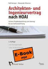 Architekten- und Ingenieurvertrag nach HOAI - Ralf Kemper; Alexander Wronna