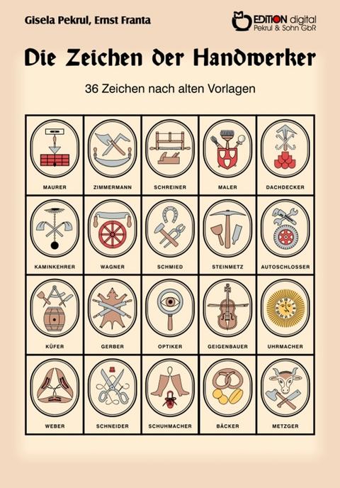 Schreiner Zeichen ebook die zeichen der handwerker gisela pekrul isbn 978 3