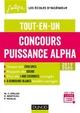 Concours Puissance Alpha 2019-2020 : tout-en-un - Speller+bentouza+tro