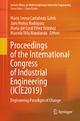 Proceedings of the International Congress of Industrial Engineering (ICIE2019) - María Teresa Castañeda Galvis; Jairo Nuñez Rodriguez; María del Coral Pérez Ordoñez; Marcela Villa Marulanda