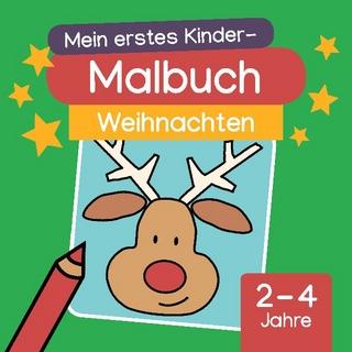 Mein erstes Kinder-Malbuch: Weihnachten - Fabian Hedwig