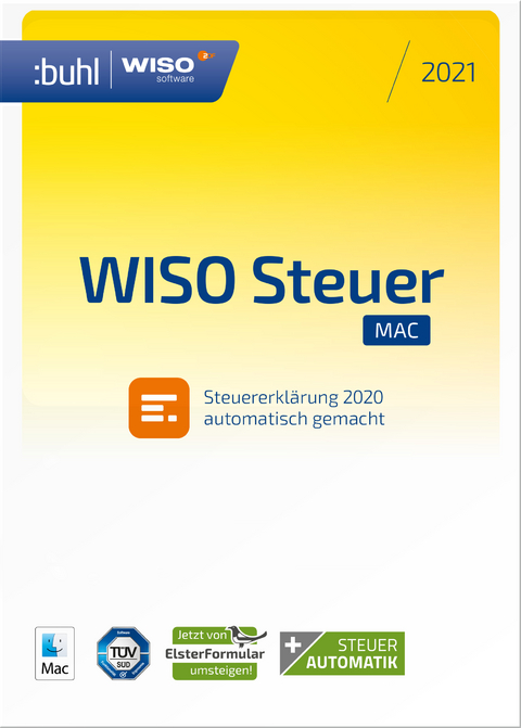 WISO Steuer Mac 2021, CD-ROM | Bei Lehmanns online kaufen ...