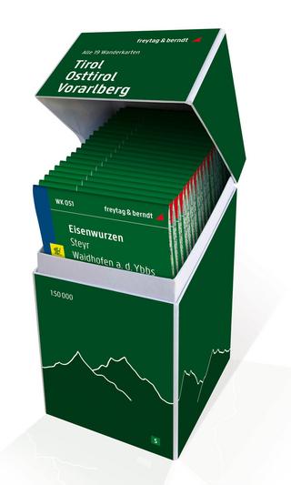 Tirol - Osttirol - Vorarlberg, Wanderkarten Set 1:50.000