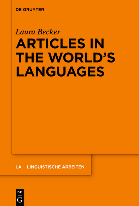 Becker, Laura: Articles in the World's Languages