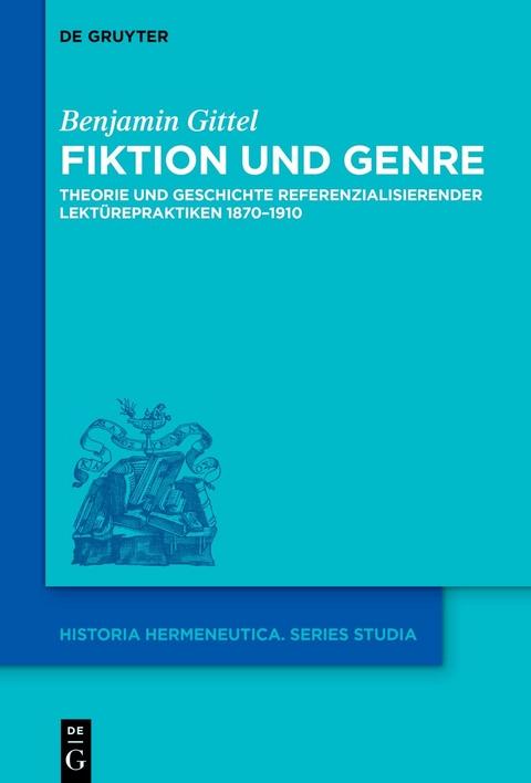Gittel, Benjamin: Fiktion und Genre