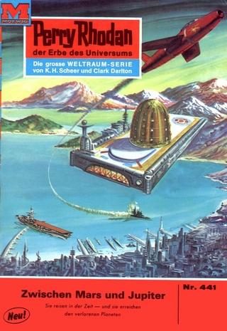 Perry Rhodan 441: Zwischen Mars und Jupiter - H.G. Ewers