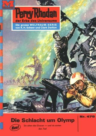 Perry Rhodan 478: Die Schlacht um Olymp - H.G. Ewers