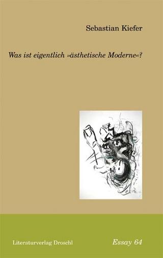 Was ist eigentlich 'ästhetische Moderne'? - Sebastian Kiefer