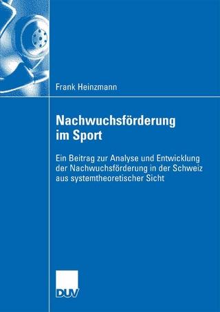 Nachwuchsförderung im Sport - Frank Heinzmann