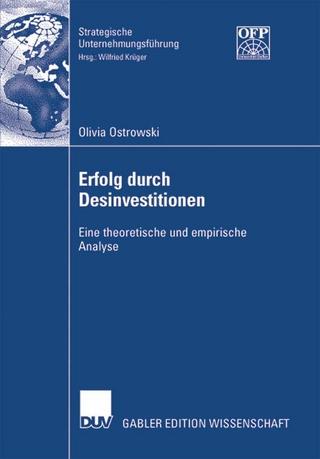 Erfolg durch Desinvestitionen - Olivia Ostrowski