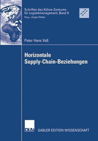 Horizontale Supply-Chain-Beziehungen - Peter Hans Voß