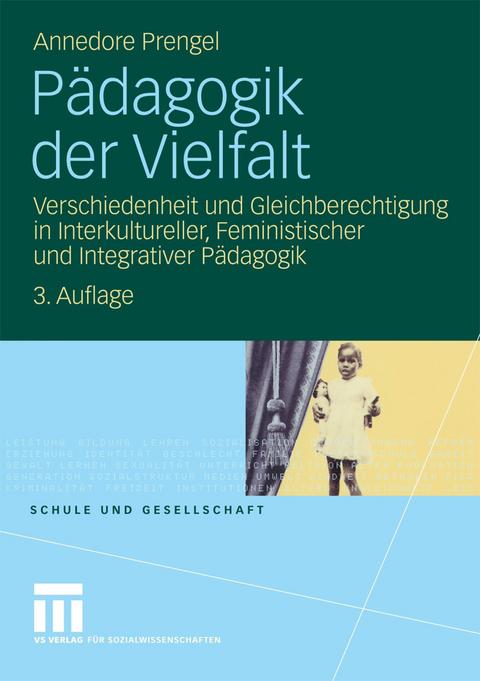 2018 Deutsch Annedore Prengel Neu Pädagogik Der Vielfalt